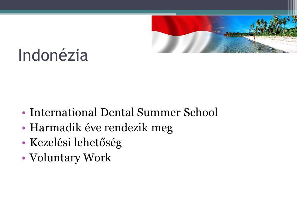 Indonézia International Dental Summer School Harmadik éve rendezik meg