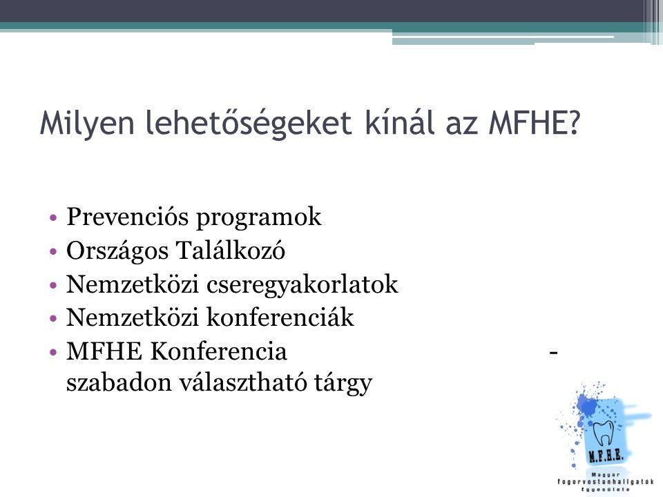 Milyen lehetőségeket kínál az MFHE