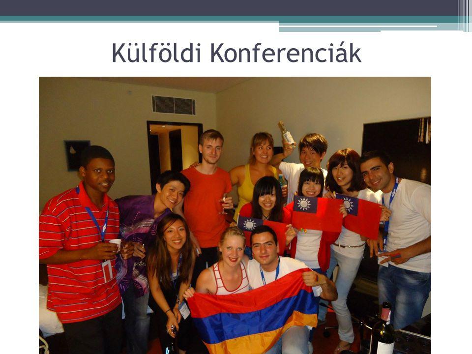 Külföldi Konferenciák