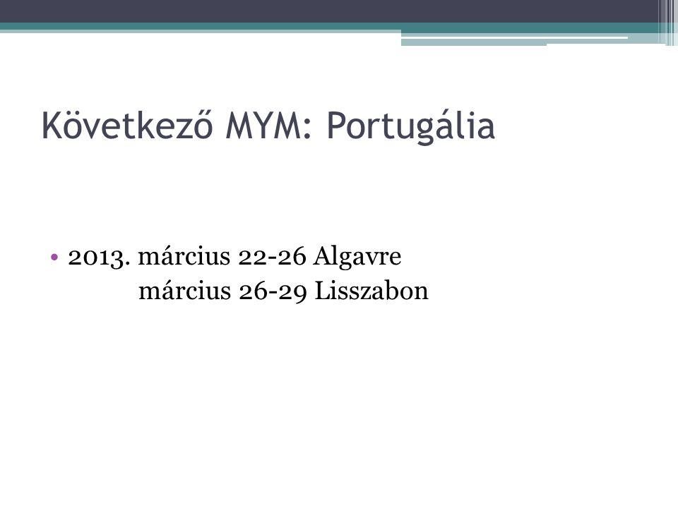 Következő MYM: Portugália