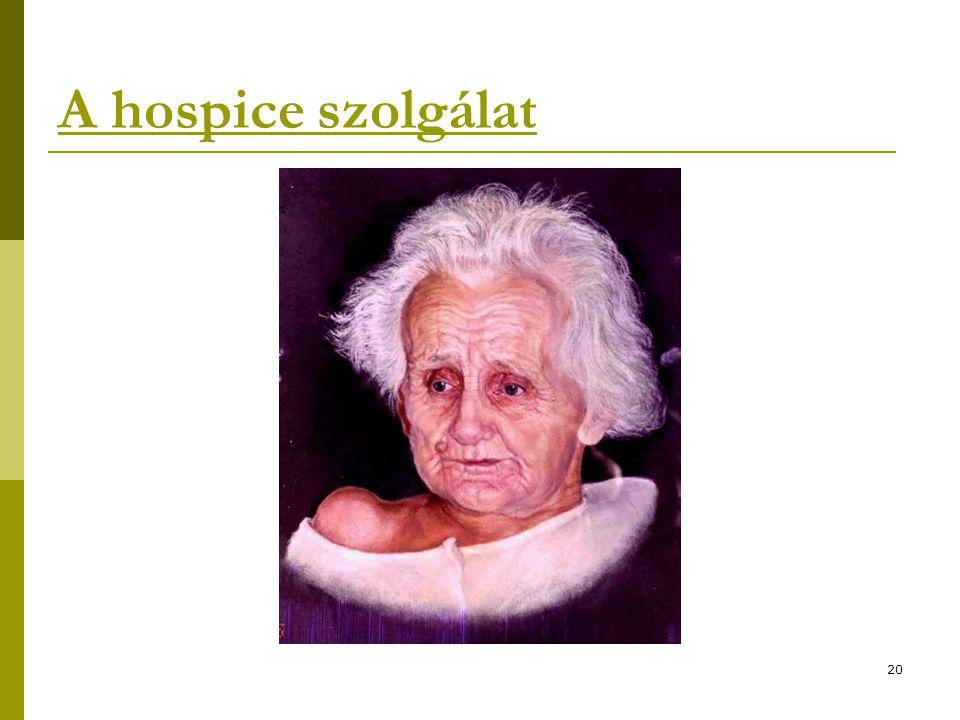 A hospice szolgálat