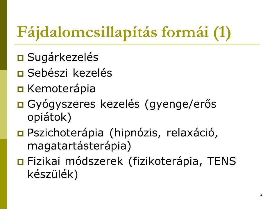 Fájdalomcsillapítás formái (1)