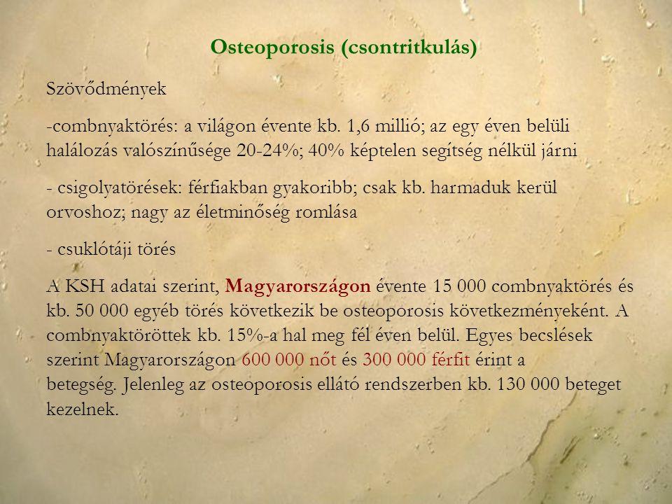 Osteoporosis (csontritkulás)