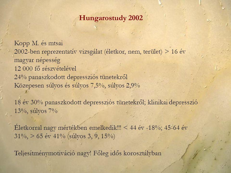 Hungarostudy 2002 Kopp M. és mtsai