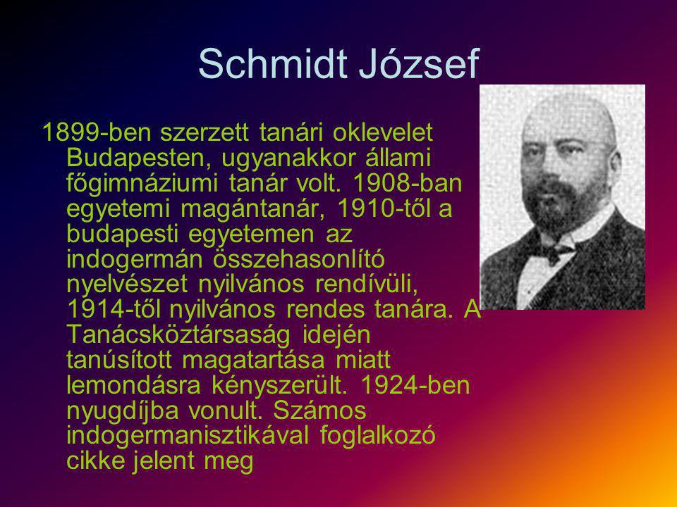 Schmidt József