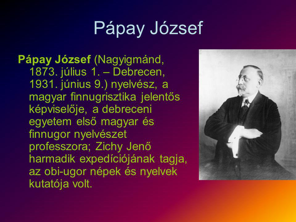 Pápay József