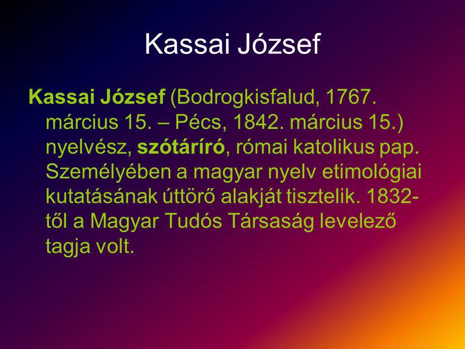 Kassai József