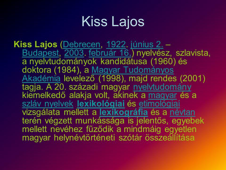 Kiss Lajos