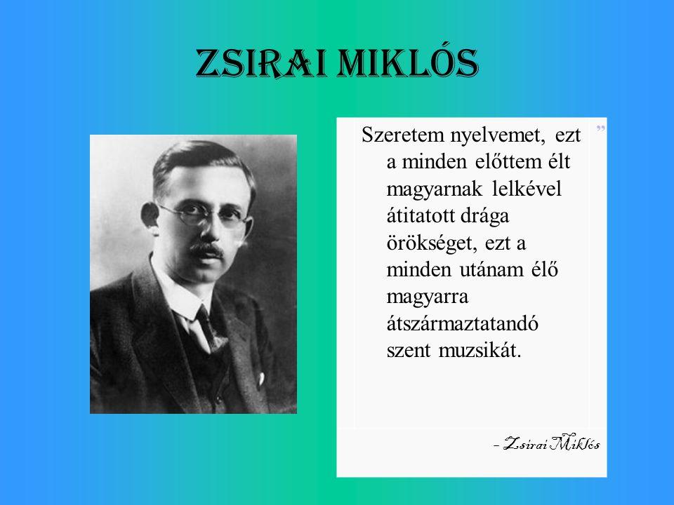 Zsirai Miklós