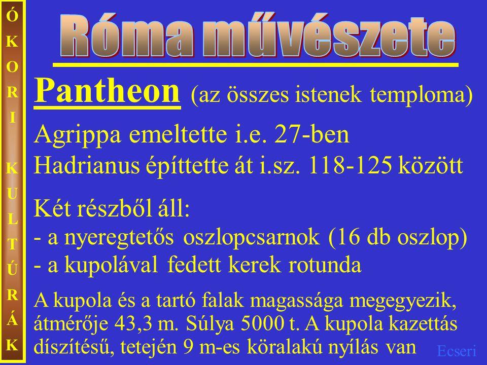 Pantheon (az összes istenek temploma)