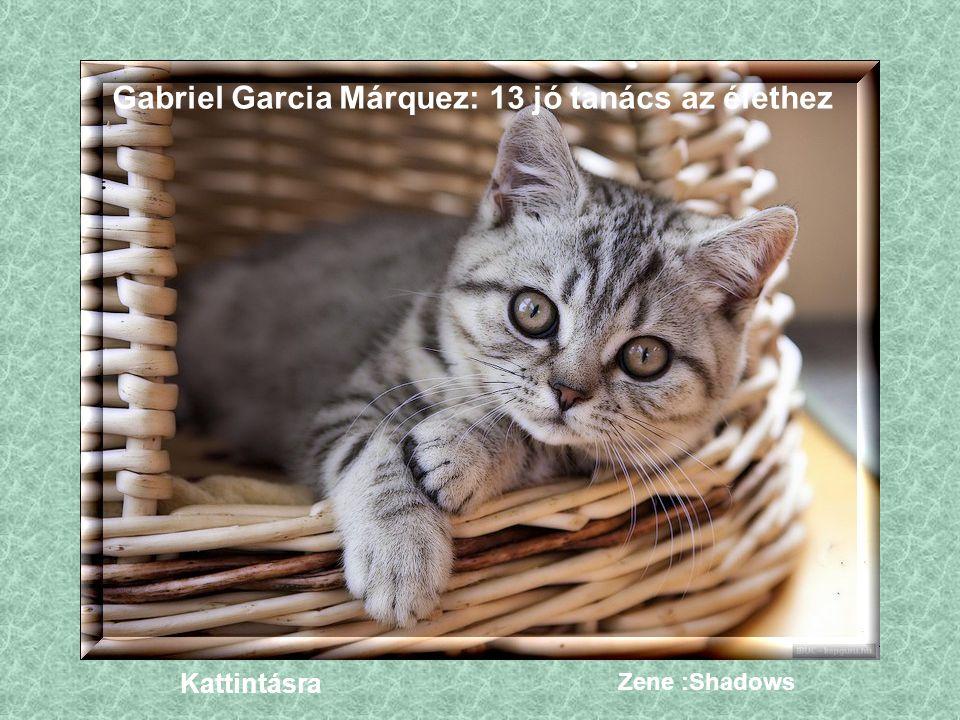Gabriel Garcia Márquez: 13 jó tanács az élethez