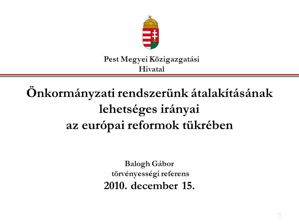 Pest Megyei Közigazgatási