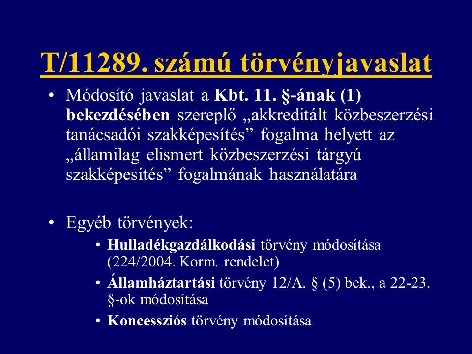 T/11289. számú törvényjavaslat