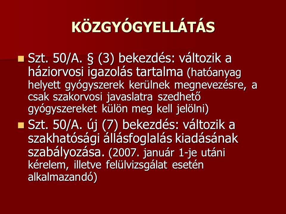 KÖZGYÓGYELLÁTÁS