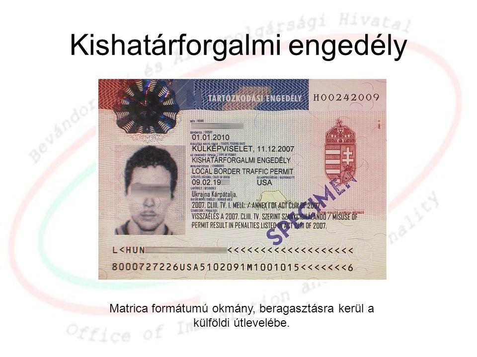 Kishatárforgalmi engedély