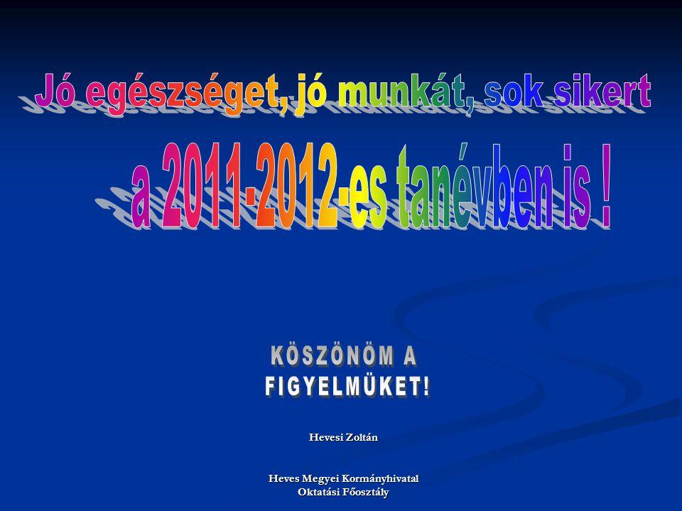 Hevesi Zoltán Heves Megyei Kormányhivatal Oktatási Főosztály