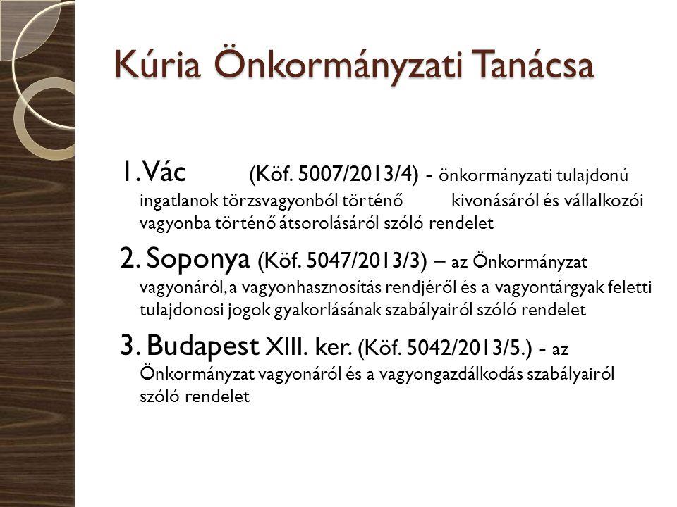 Kúria Önkormányzati Tanácsa