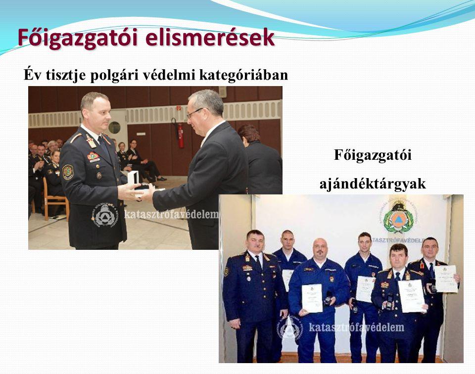 Főigazgatói elismerések