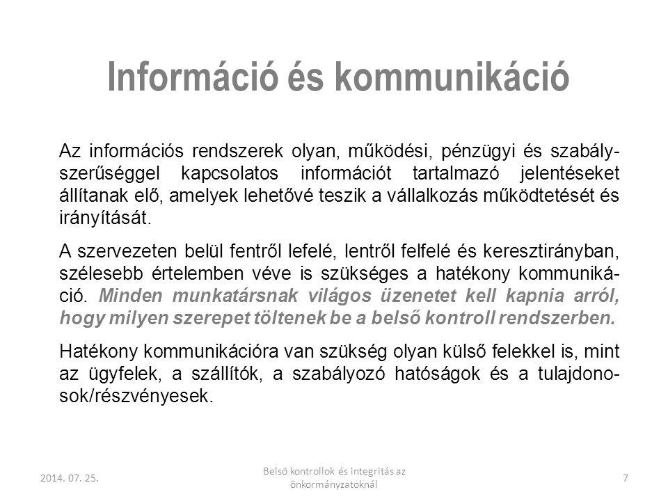 Információ és kommunikáció