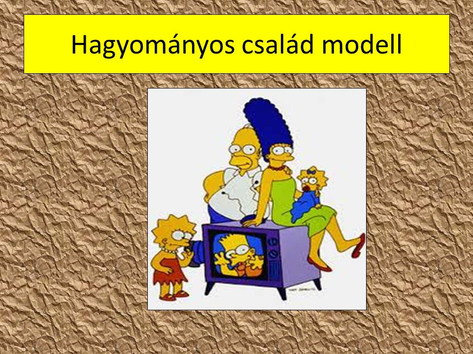 Hagyományos család modell