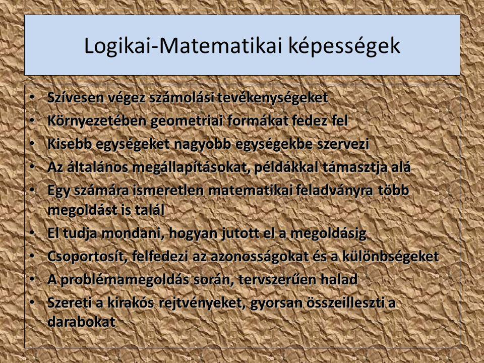 Logikai-Matematikai képességek