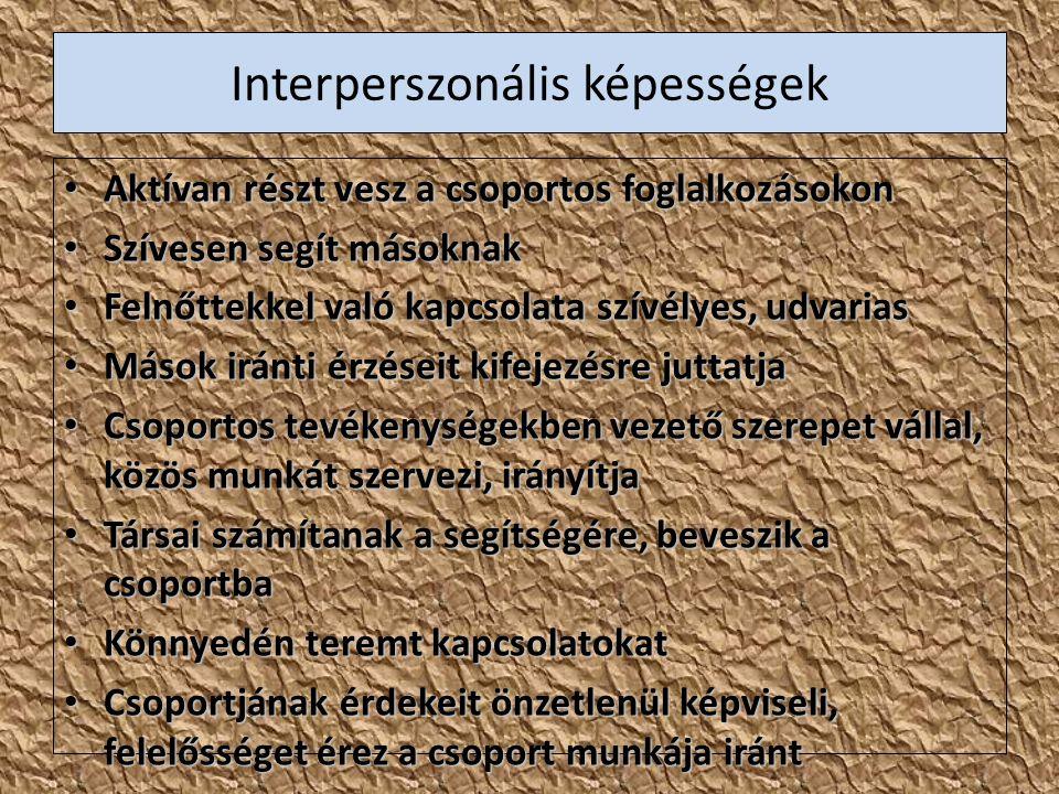 Interperszonális képességek