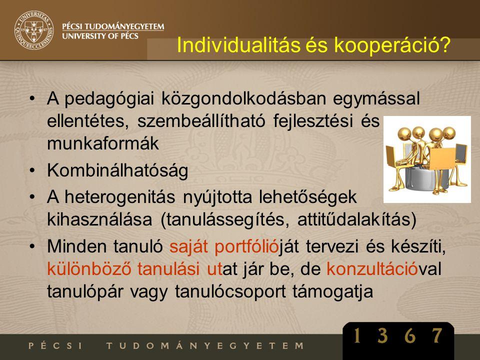 Individualitás és kooperáció