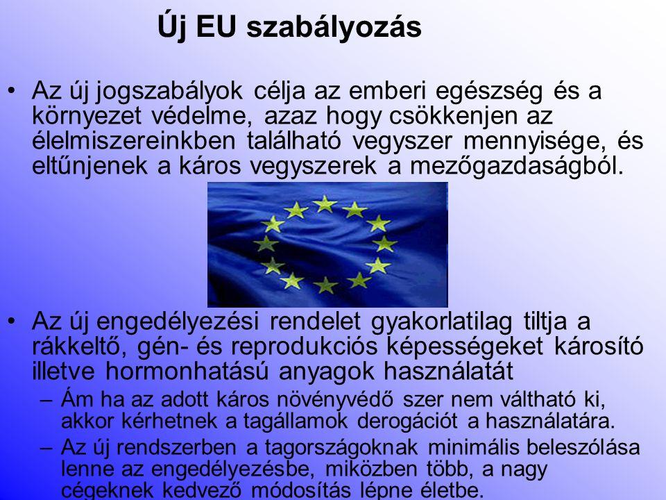 Új EU szabályozás