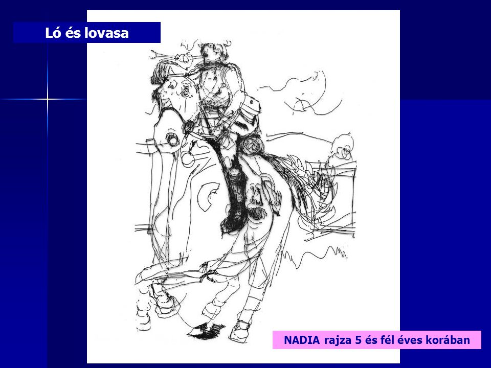 NADIA rajza 5 és fél éves korában