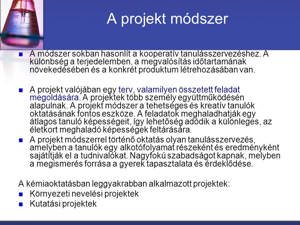 A projekt módszer