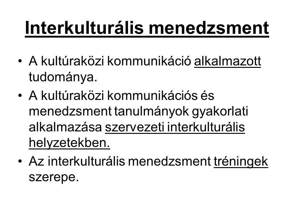 Interkulturális menedzsment