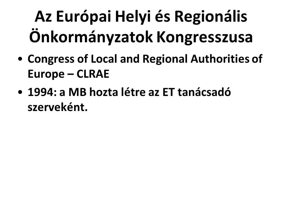 Az Európai Helyi és Regionális Önkormányzatok Kongresszusa