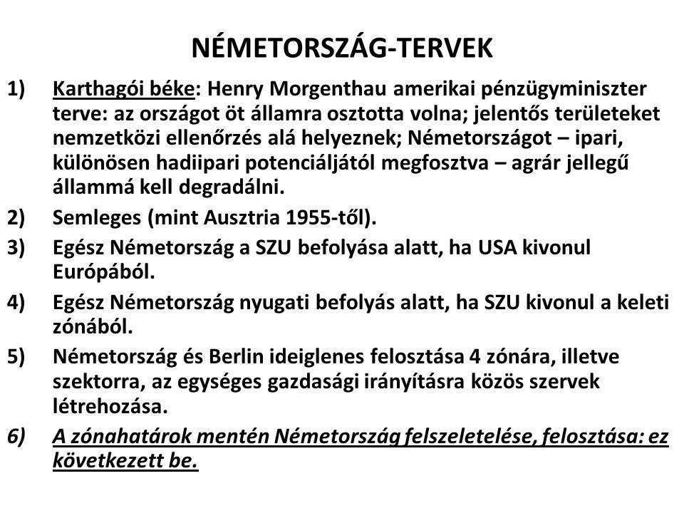 NÉMETORSZÁG-TERVEK