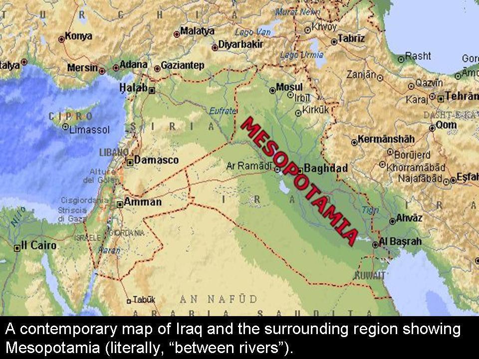 Tigris és Eufrátesz közti mocsaras terület.