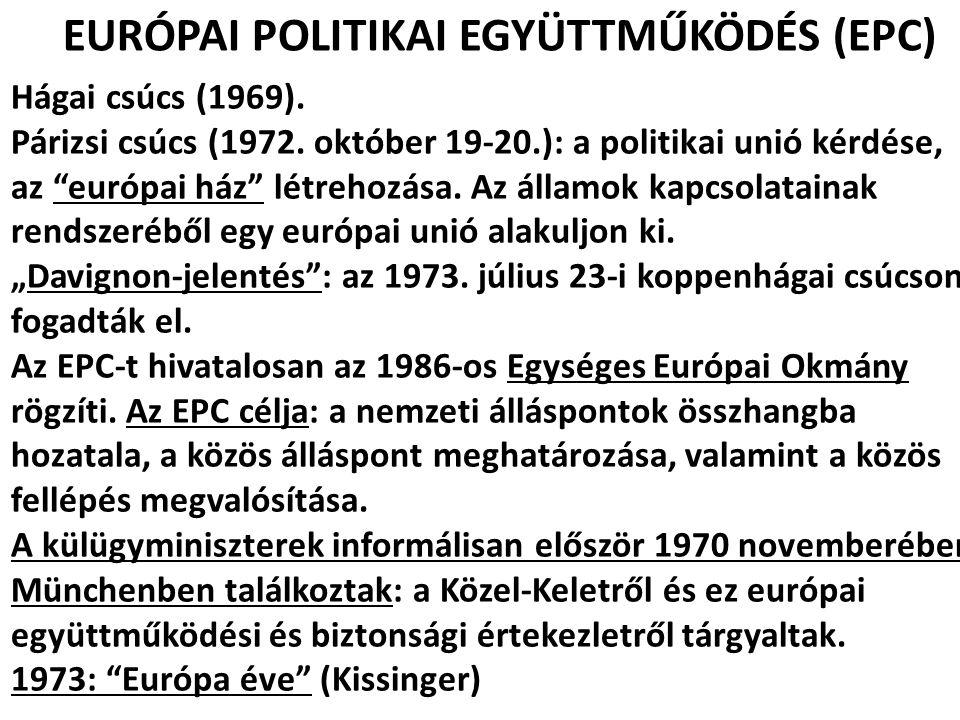 EURÓPAI POLITIKAI EGYÜTTMŰKÖDÉS (EPC)