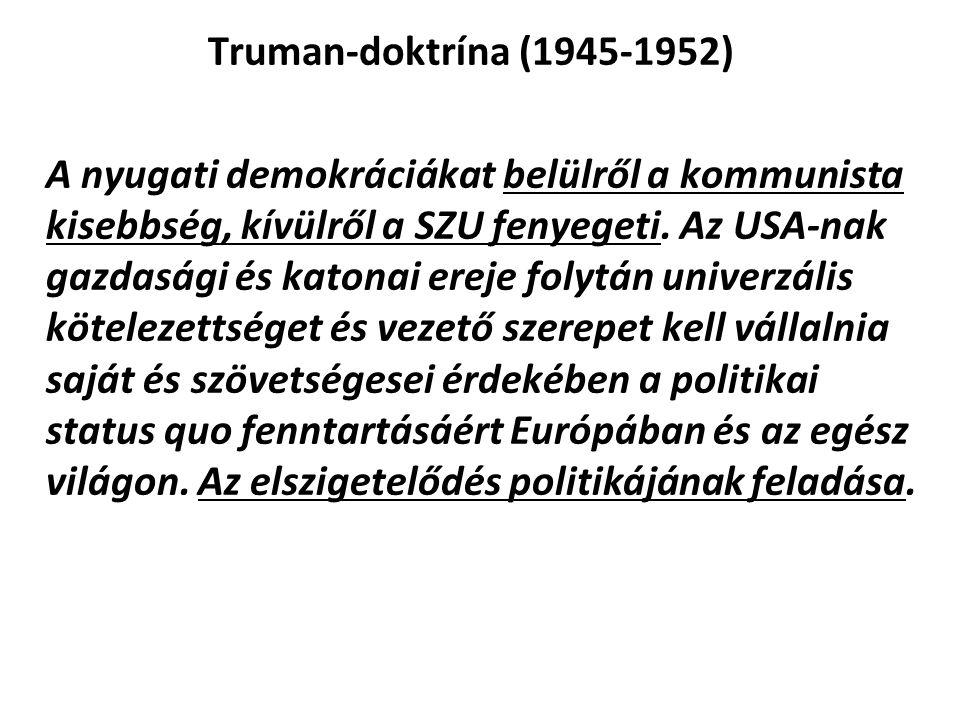 Truman-doktrína (1945-1952)