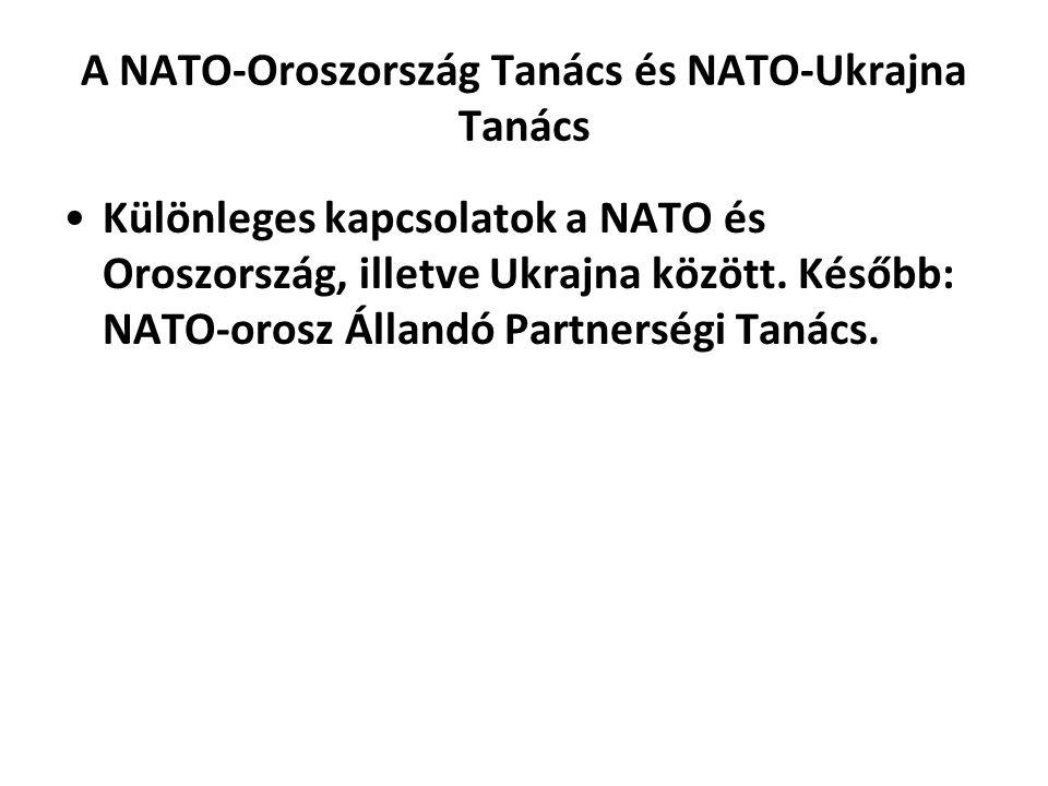 A NATO-Oroszország Tanács és NATO-Ukrajna Tanács