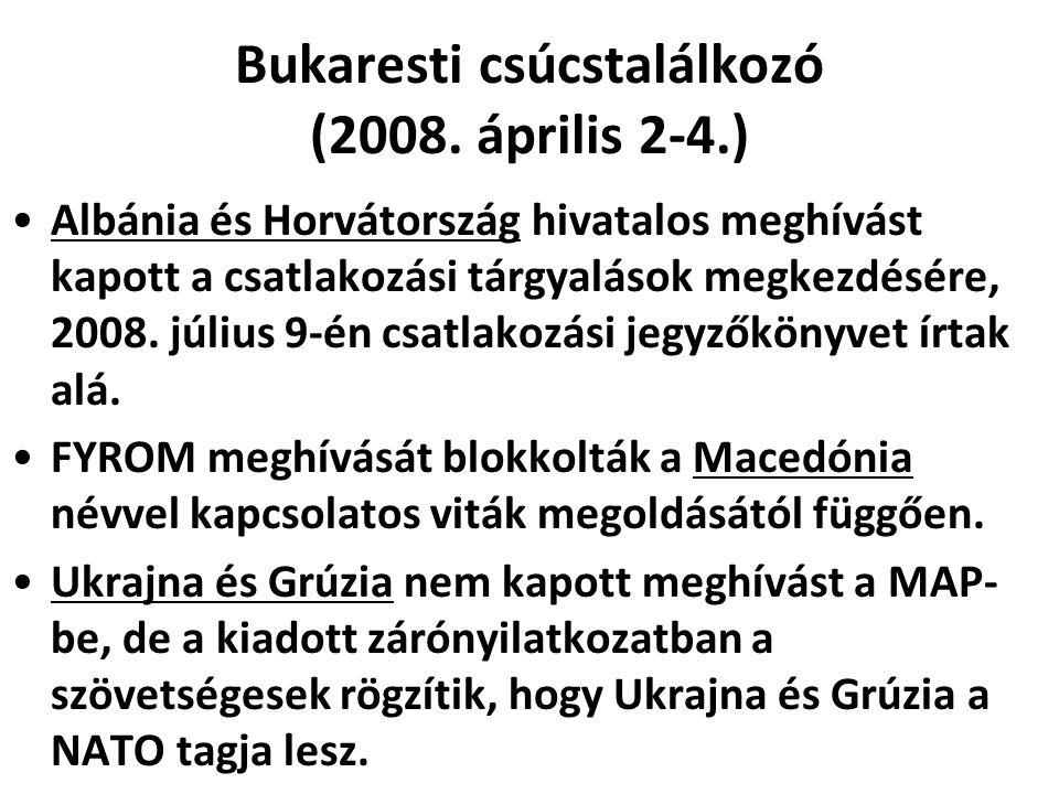 Bukaresti csúcstalálkozó (2008. április 2-4.)
