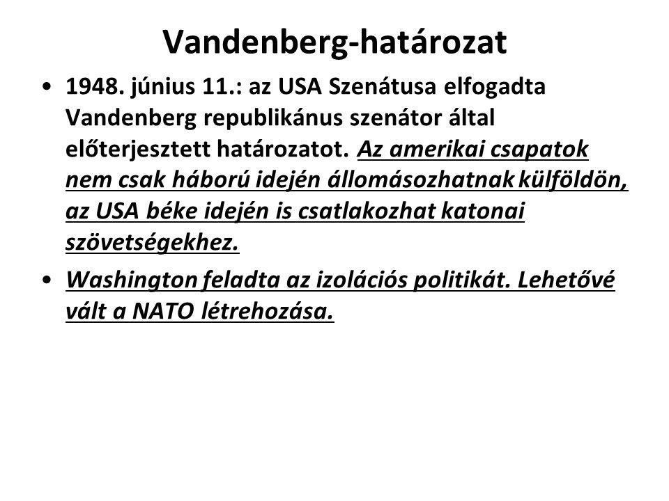 Vandenberg-határozat