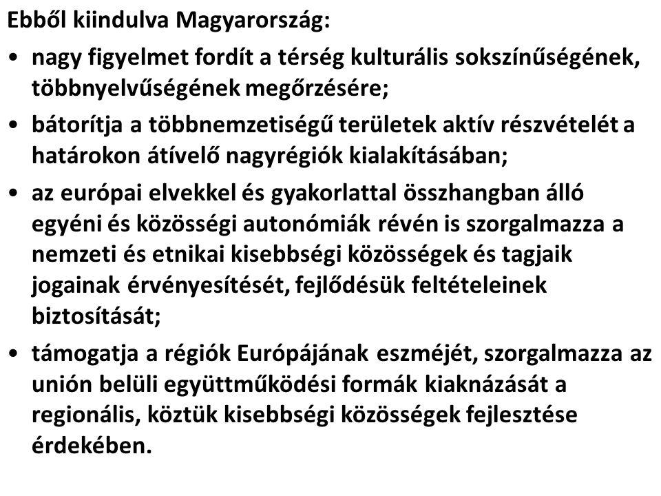 Ebből kiindulva Magyarország: