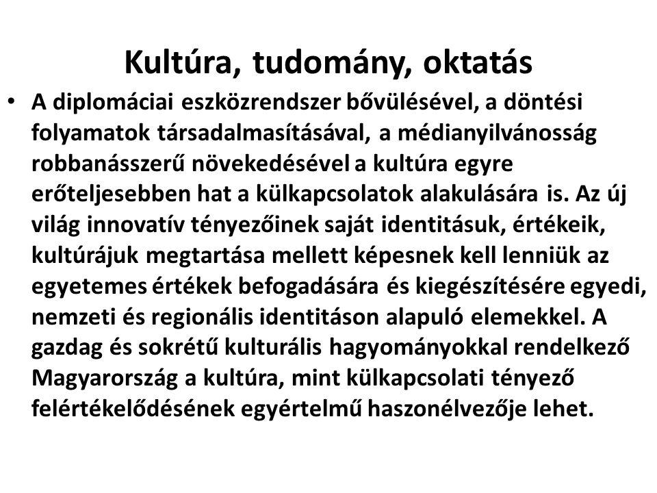 Kultúra, tudomány, oktatás