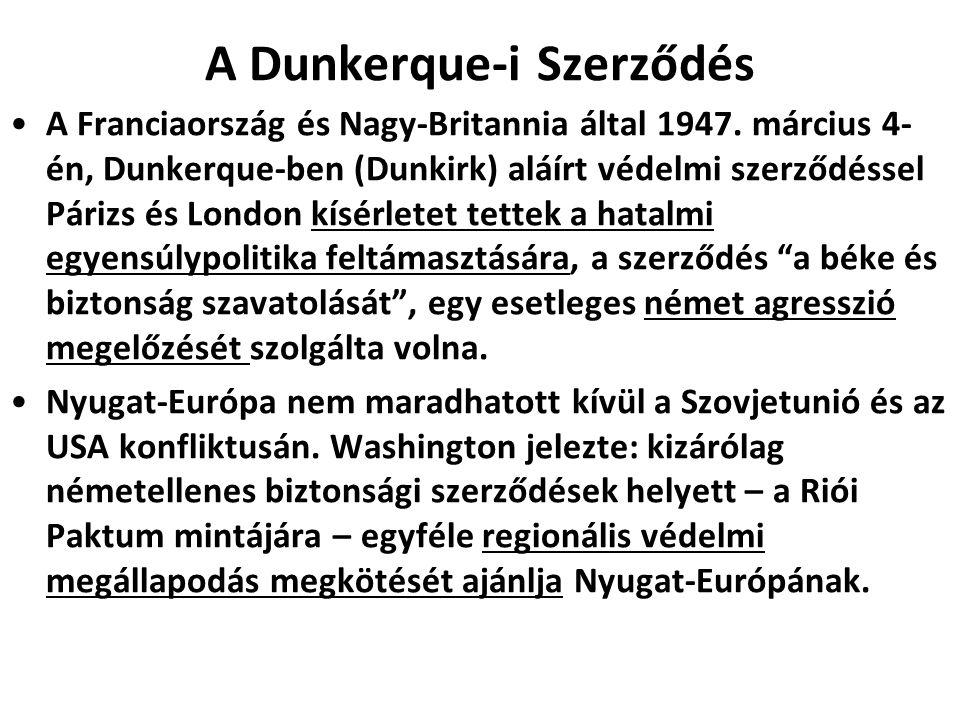 A Dunkerque-i Szerződés