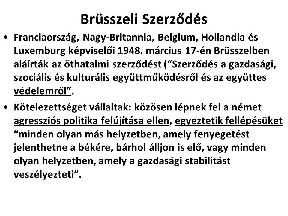 Brüsszeli Szerződés