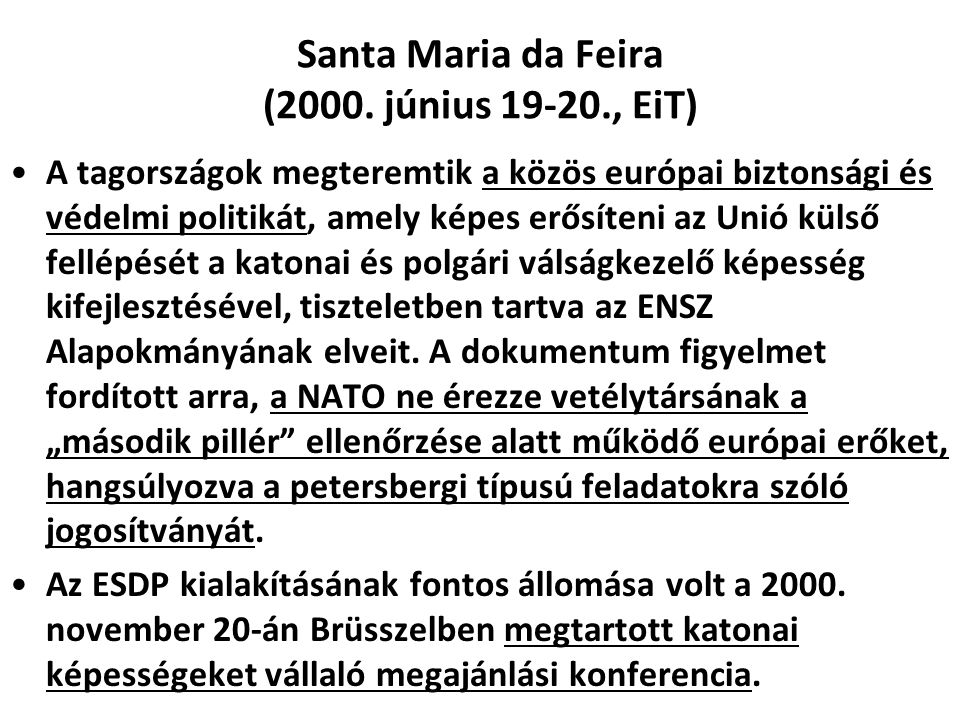 Santa Maria da Feira (2000. június 19-20., EiT)
