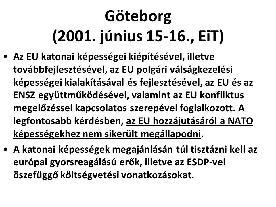 Göteborg (2001. június 15-16., EiT)