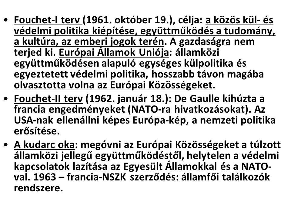 Fouchet-I terv (1961. október 19