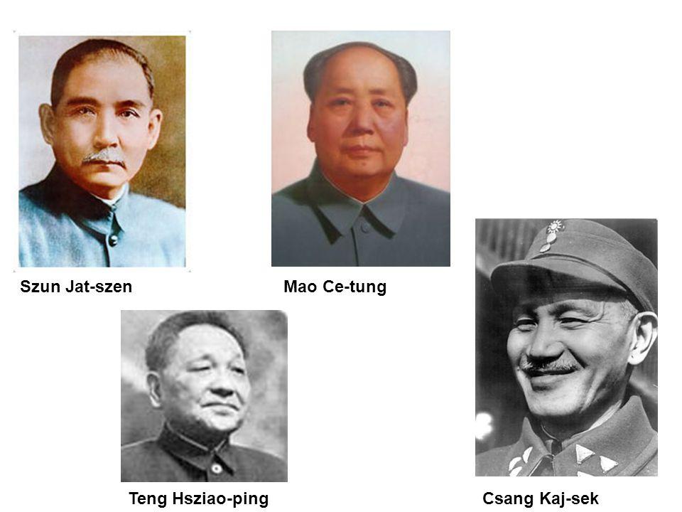 Szun Jat-szen Mao Ce-tung Teng Hsziao-ping Csang Kaj-sek