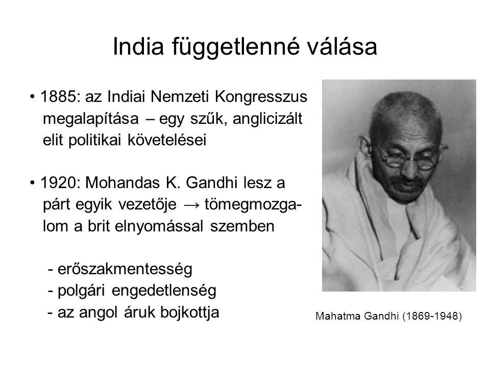 India függetlenné válása