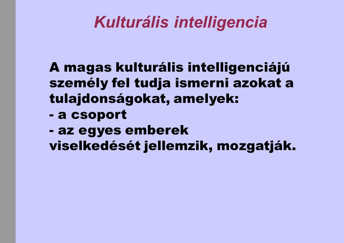 Kulturális intelligencia