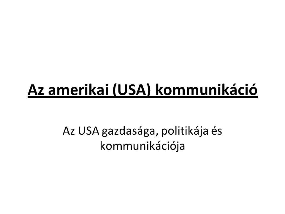 Az amerikai (USA) kommunikáció